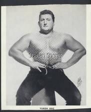 Original Vintage Yukon Eric - Eric Holmback Press Photo   Pro Wrestling Champ