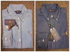 f17b357be1d Ralph Lauren POLO Denim Soft Cotton Slim Fit Oxford Shirt for Men
