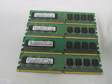 2GB Major Brand (4x 512MB) ddr2 1Rx8 PC2-4200U 444 -12 Desktop Memory
