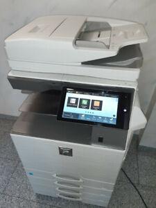 Farbkopierer A3 Digitalisierung CLOUD WLAN + LAN OCR ohne PC ! SHARP MX3070 A3