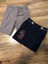 Womens Golf Nike Short Swing Skort Size 4