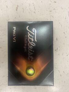 Titleist Pro V1 GolfBalls 2021 Brand New 1 Dozen W/ Pro V1 Logo Free Shipping