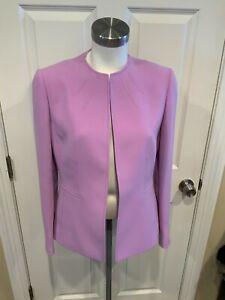 Tahari Arthur S. Levine Orchid Purple Jacket, Size 6 NWT!