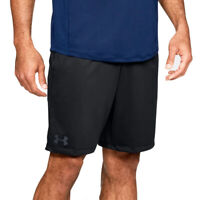 Under Armour UA Mens Raid 2.0 Mk1 9 Inch Sports Gym Black Shorts L