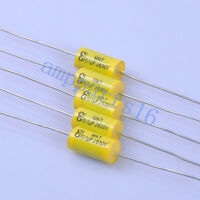 5pc Tubular Poly Film Audio Capacitor Axial 0.1uf 104 630V Tube Amplifier