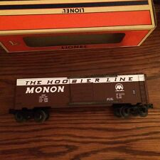 """Lionel 19289 6464 Monon """"Hoosier Line"""" Boxcar. New in Box! Made in Michigan USA!"""