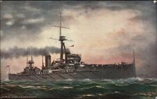 TUCK Oilette #9472 OUR IRONCLADS HMS Dreadnought c1910 Postcard