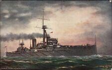 TUCK Oilette #9472 OUR IRONCLADS HMS Dreadnought c1910 Postcard
