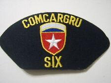 USN CAP/JACKET PATCH - COMCARGRU SIX: FL13-1