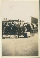 France, Campement militaire Vierzon, Séchoir des bottes de Tranchées, 1915, Vint