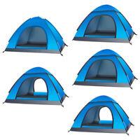 3-4 Personen Vollautomatisches Zelt Zwei Sekunden Quick Öffnen Campingzelt DE