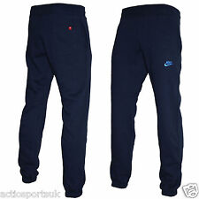 Mens Nike Fleece Joggers Trousers Jogging Pant Tracksuit Bottoms Navy XL