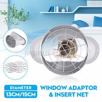 13 15cm Fenster Adapter PVC mit Netz für Mobile Klimaanlagen Klimagerät