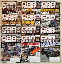 Car Craft Magazine 2015 - The Complete Year 12 Issues - Hot Rods & Drag Racing