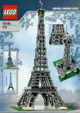Lego Sculptures 10181 Eiffel Tower - ALL NEW LEGO PIECES INCLUDED