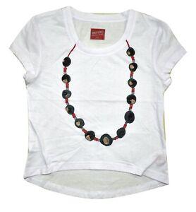 Youth Girls Ohio State Buckeyes Costume Beaded Shirt New M (8)