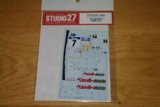 Décals Studio27 Subaru Impréza Rallye Hokkaido 1/24