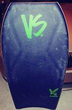 "Vs Vs Free Ride Pp Bodyboard Blue Deck Green Slick 42.5"""