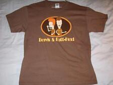 Beavis & Butthead Death Rock Skull Brown Delta T-shirt Mens Medium used