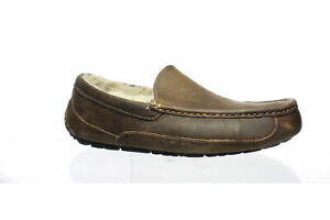 UGG Mens Ascot Tan Moccasin Slippers Size 9 (1528132)