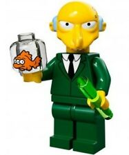 The Simpsons Lego collectible minifig Mr. Burns - suit city / house set