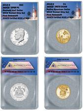 2019 SP69 JFK Half and PR70 Native American Dollar Rocketship Coins – ANACS