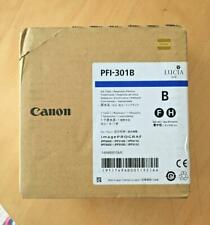 Genuine BOXED Canon Ink  - PFI-301 BLUE / FOR IPF8000 8100 8110 9000 (INC VAT)