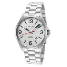 Hamilton Men's Khaki Aviation H76225151 38mm Silver Dial SS Automatic Watch