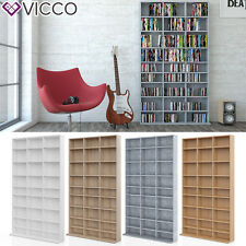 VICCO CD DVD Bluray Regal Medienregal Standregal Regalwand Bücherregal AUSWAHL