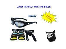 Daisy Sunglasses Googles Harley Motorcycle DAISY - Free Mask Skull (H) CM25
