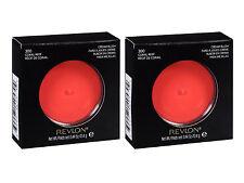 (2) REVLON Cream Blush 300 Coral Reef 0.44 oz (Free Shipping)