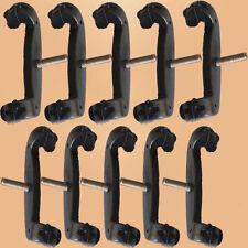10PCS-Violon/Alto Épaule Repos Pieds/Fourche Pour FOM & Kun shoulder rest-noir