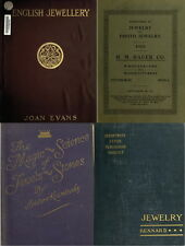 197 RARE OLD BOOKS ON JEWELRY, GOLD, PEARLS, DIAMONDS PRECIOUS GEM STONES ON DVD