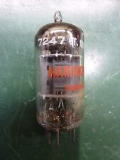 Hammond Mullard Blackburn UK 7247 Vacuum Tube. tested good.