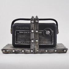 Vintage Transistor Nordmende Radio Shelf Tidy Book Ends Heavy Vintage