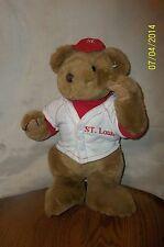 "Toy Parade St. Louis Bear Plush 13"""