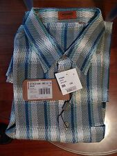 MISSONI MENS SHIRT 100%COTTON  ITALY SIZES  52/L