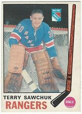 1969-70 OPC HOCKEY #189 TERRY SAWCHUK - NEAR MINT-