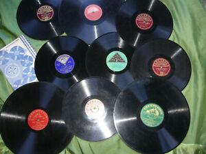 Konvolut Schellackplatten, Odeon, Grammophon, Telefunken, Electrola