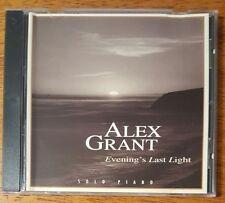 Alex Grant - Evening's Last Light Solo Piano - Buy 1 CD Get Up To 10 Half Price