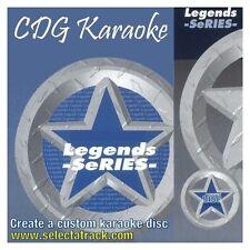 LEGENDS Rock Karaoke CDGs & DVDs