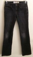 Ann Taylor LOFT Original Boot 5 POCKET Style Jeans Size 0 Black Denim