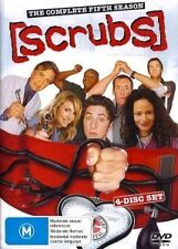 SCRUBS: THE COMPLETE FIFTH SEASON 5 - BRAND NEW & SEALED R4 DVD (4-DISC)