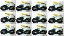 12 New Lot Av Cables for Sega Genesis 1 / Master System