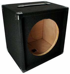 "Electric Guitar 1X12 Empty 12"" Speaker Carpet Cabinet Enclosure Box 1/4"" Jack"