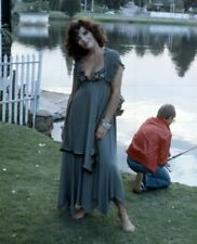 """JOAN COLLINS - 10"""" x 8"""" Colour Photo TALES THAT WITNESS MADNESS 1973 #2042"""
