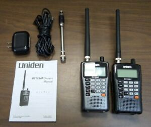 Uniden Bearcat BC125AT & BC75XLT Handheld Scanners