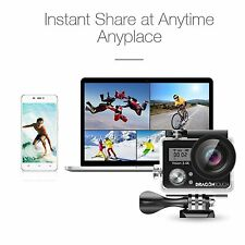 "HD 4K Action Sports Camera Waterproof UP TO 98FT WiFi DV Camcorder 2.0"" Screen"