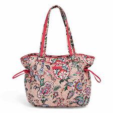 Vera Bradley Iconic Glenna Women's Satchel Bag - Stitched Flowers