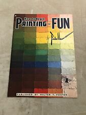 HOW TO BEGIN PAINTING FOR FUN 81 Art Instruction Paperback ESTELLE FEDELLE